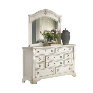 Traditions 10-drawer Dresser and Mirror Set