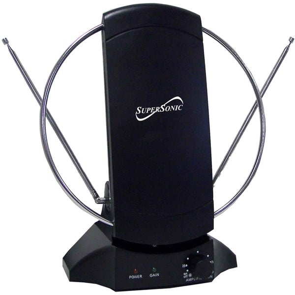 Supersonic SC-605 HDTV and Digital Amplified TV Indoor Antenna