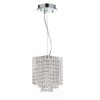 Gallery Retractable Crystal-draped Pendant