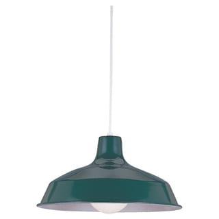 Pendant Single-light Emerald Green Finish