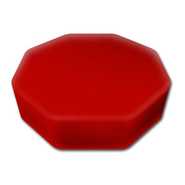 Senseez Red Octagon Vibrating Pillow