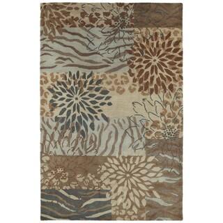 Retreat Multi Hand Tufted Wool Rug (5'0 x 7'6)