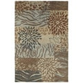 Retreat Multi Hand Tufted Wool Rug (3'0 x 5'0)