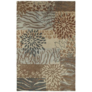 Retreat Multi Hand Tufted Wool Rug (7'6 x 9'0)