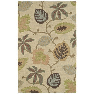 Retreat Multi Dahlia Hand Tufted Wool Rug (5'0 x 7'6)