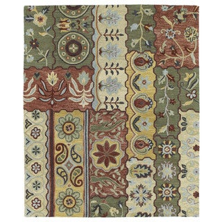 Felicity Multi Hand Tufted Wool Rug (9'6 x 13'0)