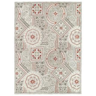 Felicity Grey Hand Tufted Wool Rug (7'6 x 9'0)