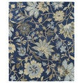 Felicity Navy Hand Tufted Wool Rug (5'0 x 7'6)