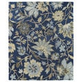 Felicity Navy Hand Tufted Wool Rug (7'6 x 9'0)