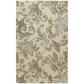 Euphoria Sand Tufted Wool Rug (9'6 x 13'0)