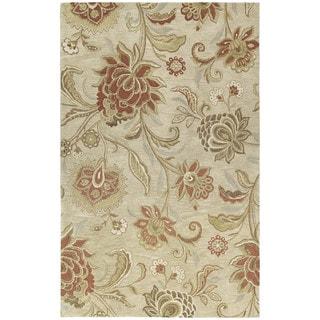 Euphoria Sand Tufted Wool Rug (3'0 x 5'0)