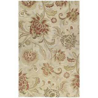 Euphoria Sand Tufted Wool Rug (8'0 x 11'0)