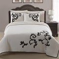 Countess 3-piece Applique Coverlet