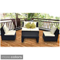 Avalon 4-Piece Armless Lounge Patio Set