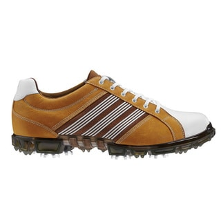 Adidas Men's Adicross Tour Brown/ White Golf Shoes