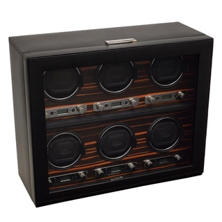 WOLF 'Roadster Module 2.7' 6 Watch Winder