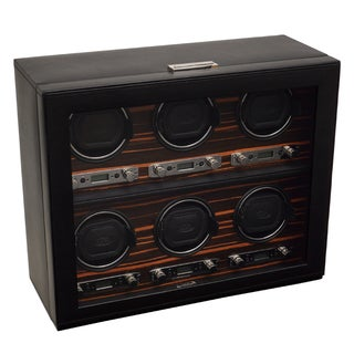 Wolf Designs 'Roadster Module 2.7' 6 Watch Winder