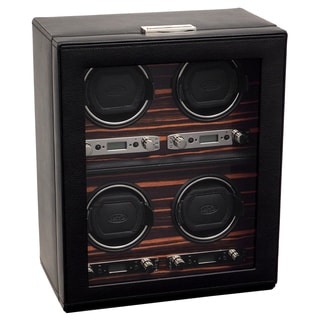Wolf Designs 'Roadster Module 2.7' 4 Watch Winder