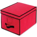 Christmas Red Ornament Storage Box