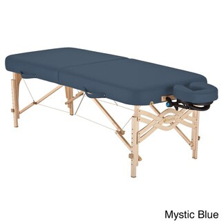 Earthlite Spirit Half Reiki / Half Standard Panel 28-inch Portable Massage Table Package with Flex-Rest