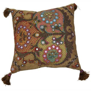 nuLOOM Decorative Multi Cotton Pillow