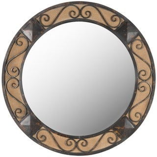 Safavieh Laura Dark Brown Mirror