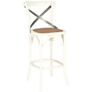 Safavieh Eleanor Ivory Oak 30.7-inch Bar Stool