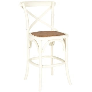 Safavieh Franklin Ivory Oak Counter Stool