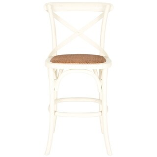 Safavieh 24.4-inch Franklin Ivory Counter Stool
