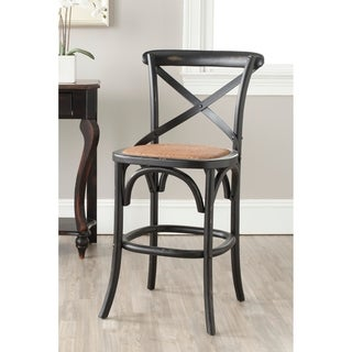 Safavieh Franklin Hickory Oak 24.4-inch Counter Stool