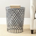 Safavieh 'Thor' Welded Grey Epoxy Iron Strips Stool