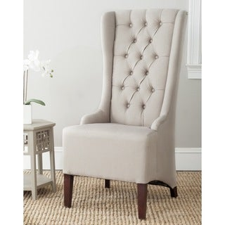 Safavieh Deco Becall Taupe Side Chair