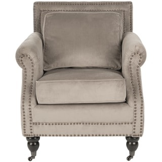 Safavieh 'Karsen' Mushroom Taupe Club Chair