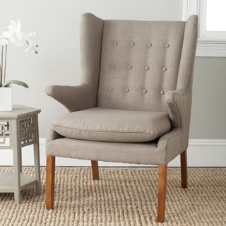 Safavieh Gomer Olive Oak Arm Chair