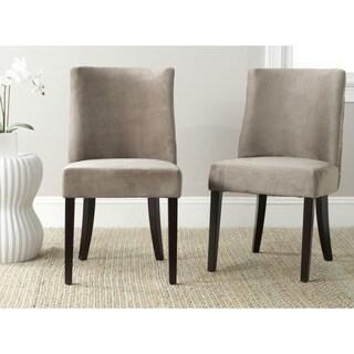 Safavieh Judy Mushroom Taupe Side Chair (Set of 2)