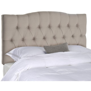 Safavieh Axel Taupe Tufted Headboard (Full)