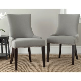 Safavieh Lester Granite Nailhead Dining Chairs (Set of 2)