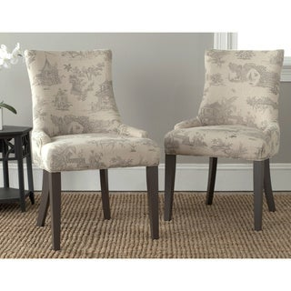 Safavieh Lester Taupe Dining Chairs (Set of 2)