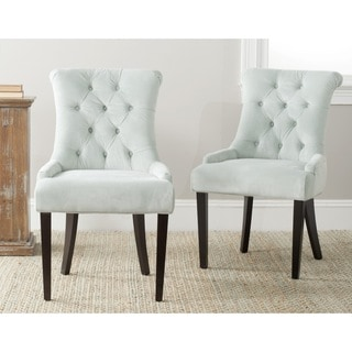 Safavieh Bowie Light Blue Side Chairs (Set of 2)