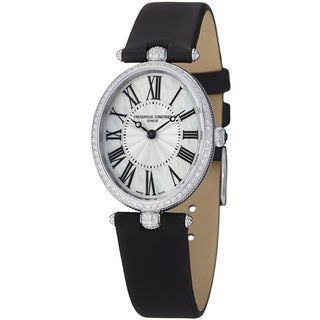 Frederique Constant Women's FC-200MPW2VD6 'Art Deco' Mother Of Pearl Dial Watch