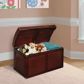 Barrel Top Toy Chest Cherry