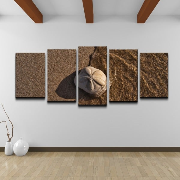 Chris Doherty 'Seabiscuit' 5-piece Canvas Wall Art