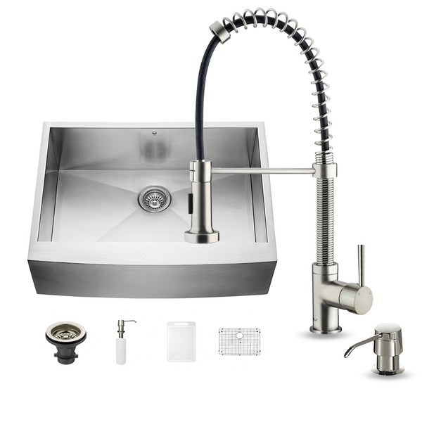30 In Farmhouse Sink : ... / Home & Garden / Home Improvement / Sinks / Sink & Faucet Sets