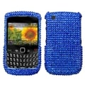 BasAcc Blue Diamante Case for Blackberry Curve 8520/ 8530/ 9300