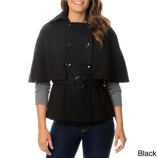 Krush Juniors Wool Double Breasted Cape Coat