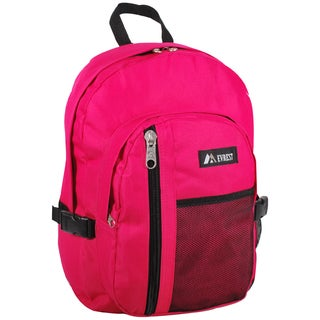 Everest 16.5-inch Backpack with Front Mesh Pocket and Dual Side Compression Straps