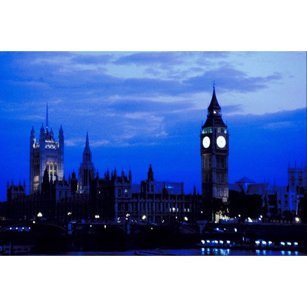 'Big Ben in England' Photography Canvas Print