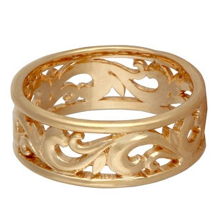 14k Yellow Gold Men's Comfort-fit Wedding Band