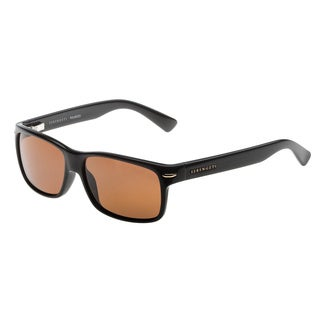 Serengeti 'Fontana' Men's Black Polarized Driver's Lens Sunglasses