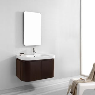 Virtu USA Marvella 36-inch Single Sink Bathroom Vanity Set